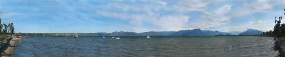 Gardasee-panoramabild
